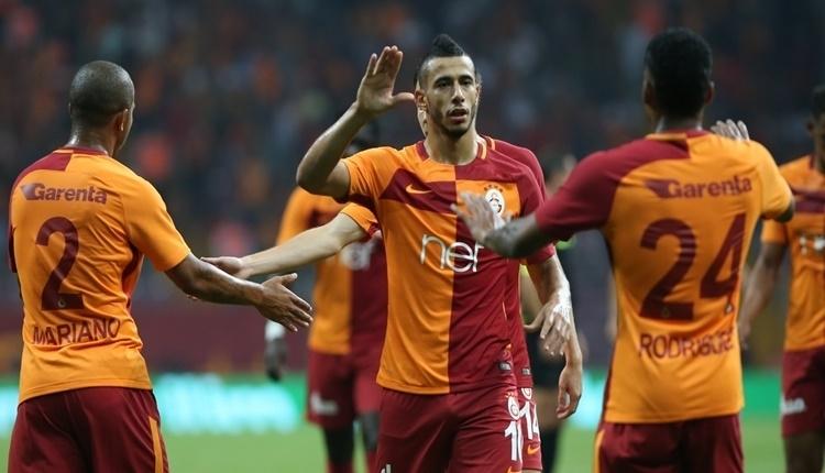Porto'nun golünde Younes Belhanda'dan Fernando Muslera'ya tepki