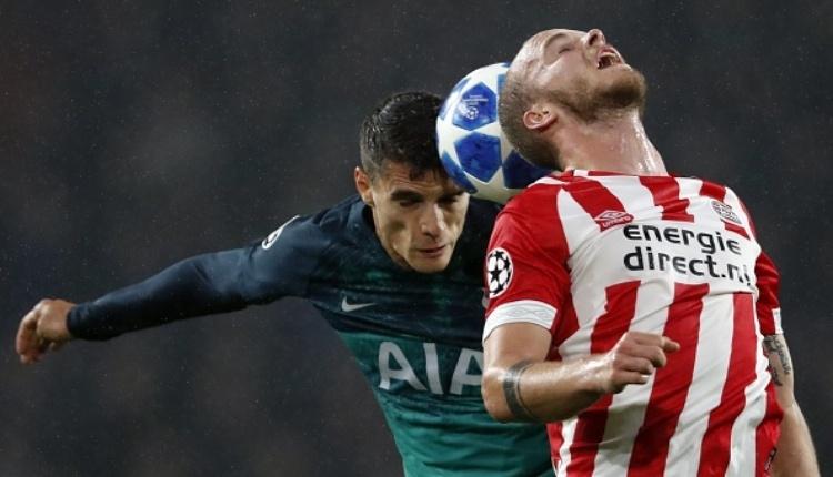 PSV Eindhoven 2-2 Tottenham maç özeti ve golleri izle (Şampiyonlar Ligi maç özetleri izle)