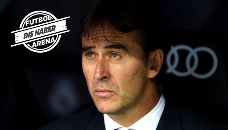 Real Madrid'de Lopetegui için karar verildi