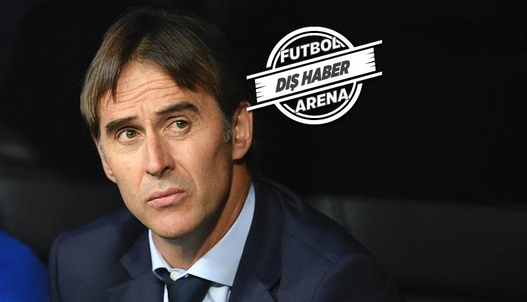 Real Madrid'de teknik direktör Lopetegui kovulacak