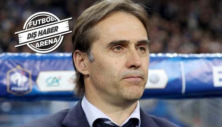 Real Madrid'te teknik direktör Lopetegui kovuldu