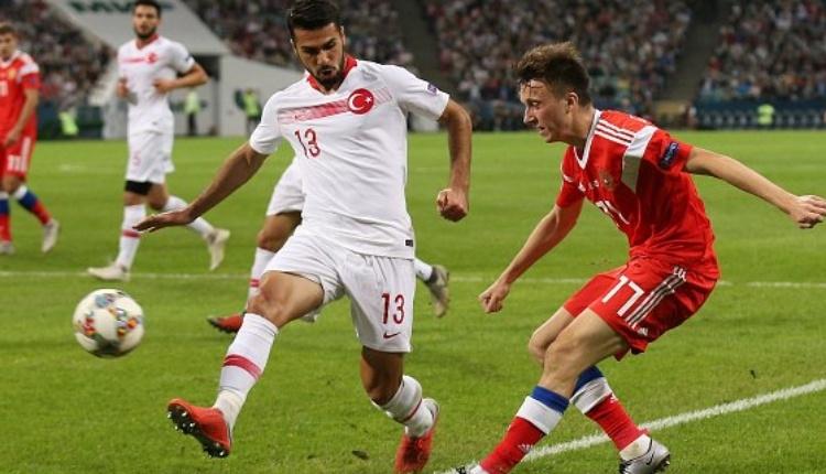 Rusya 2-0 Türkiye maç özeti ve golleri (İZLE)