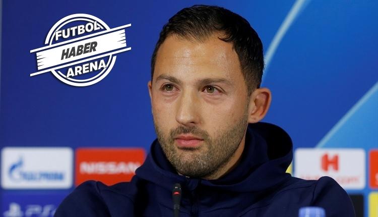 Schalke Teknik Direktörü Tedesco: 'Fatih Terim büyük hoca'
