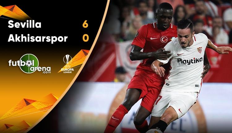 Sevilla 6-0 Akhisarspor maç özeti ve golleri izle (UEFA Avrupa Ligi maç özetleri izle)