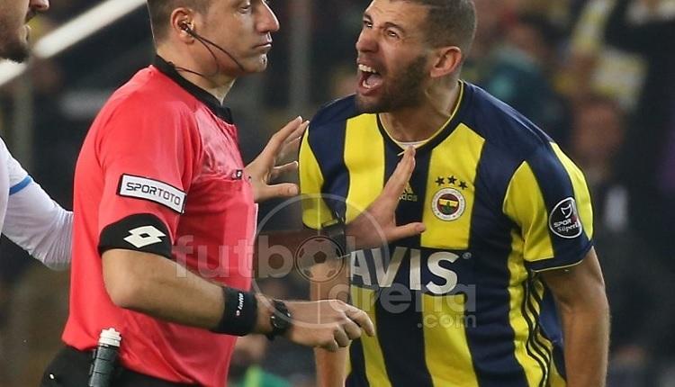 Slimani Galatasaray derbisinde cezalı
