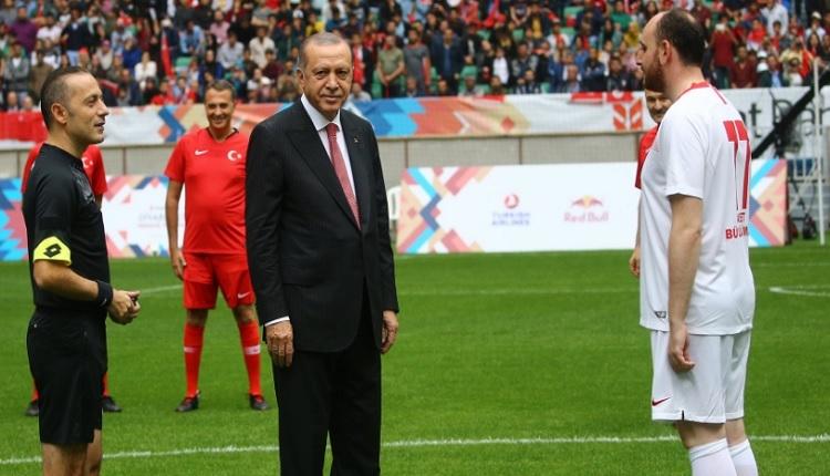 Şöhretler Karması maçı golleri (Beyaz Takım 5-3 Kırmızı Takım)
