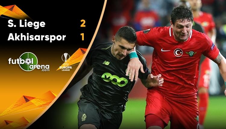 Standard Liege 2-1 Akhisarspor maç özeti ve golleri (İZLE)