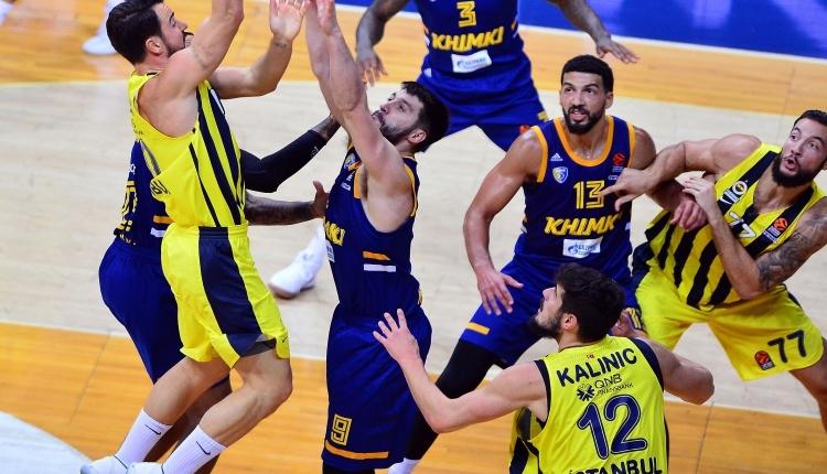 THY Euroleague: Fenerbahçe: 93 - Khimki: 85 maç özeti