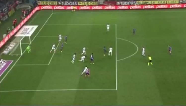 Trabzonspor - Erzurumspor maçında penaltı tartışması! Rodallega'nın pozisyonu penaltı mı?