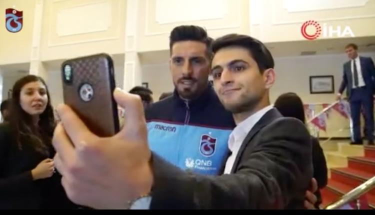 Trabzonspor'dan anlamlı buluşma