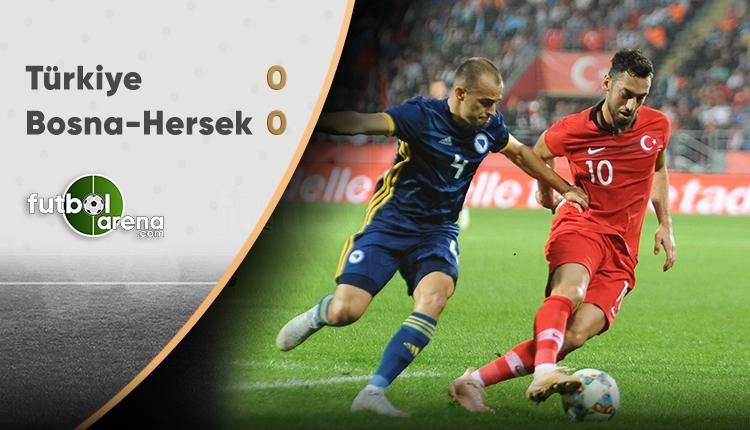 Türkiye 0-0 Bosna Hersek maç özeti (İZLE)