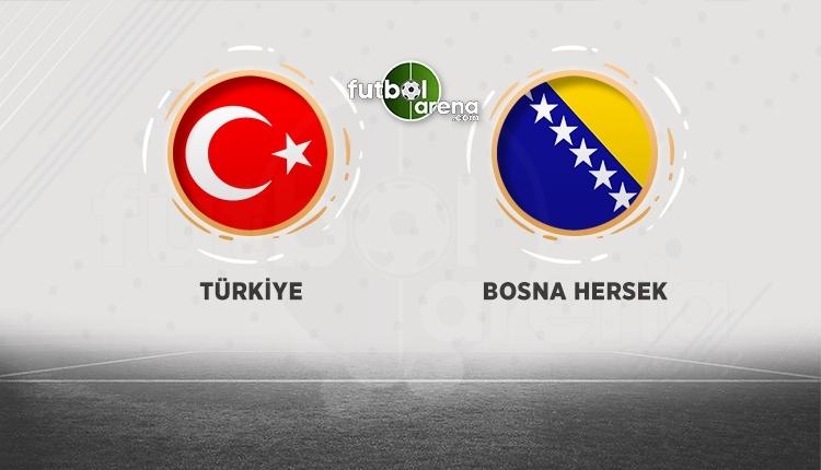 Türkiye - Bosna Hersek TRT 1 canlı izle (Milli maç hangi kanalda?)