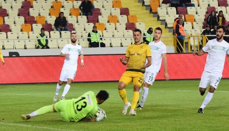 Yeni Malatyaspor 1-0 Kırklarelispor maç özeti ve golü İZLE