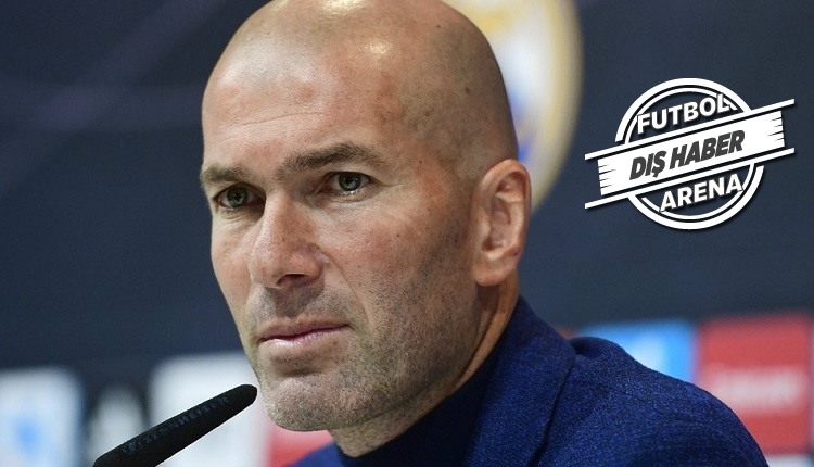 Zidane'dan Real Madrid'e: