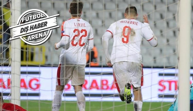 Adem Ljajic'in Sırbistan - Litvanya maçındaki golünü İZLE