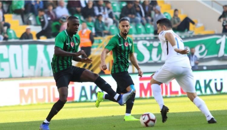 Akhisarspor 1 - 1 BB Erzurumspor maçın özeti ve golleri (İZLE)