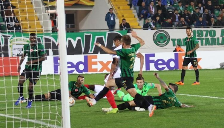 Akhisarspor 2-3 Sevilla maçın özeti ve golleri