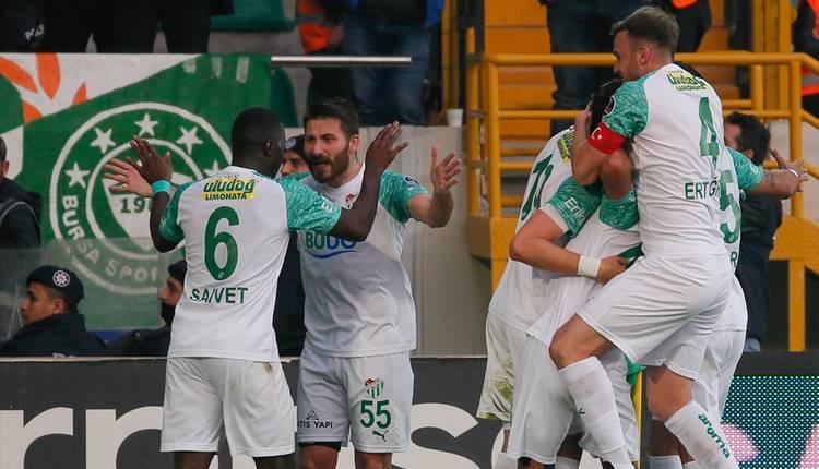 Akhisarspor 2-4 Bursaspor maçı özeti ve golleri (İZLE)