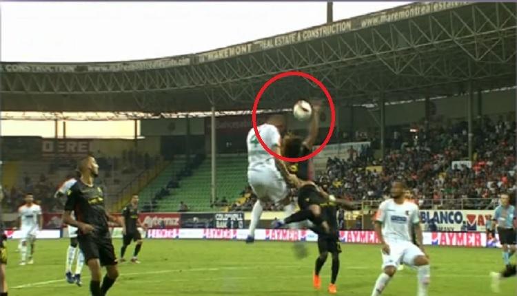 Alanyaspor - Yeni Malatyaspor maçında VAR'a giden pozisyon