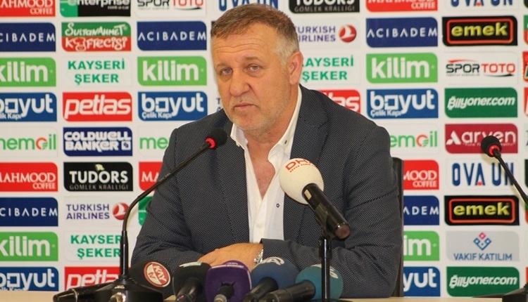 Alanyaspor'un en başarılı teknik direktörü Mesut Bakkal