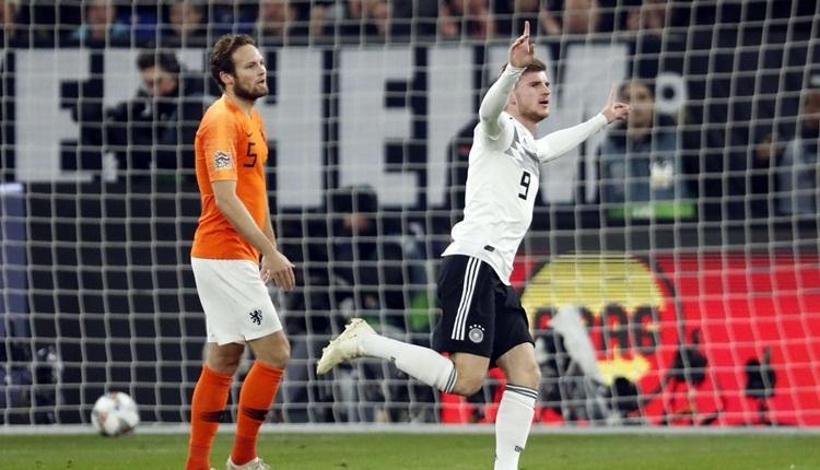 Almanya 2-2 Hollanda maç özeti ve golleri
