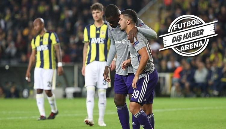 Anderlecht cephesi: 'Fenerbahçe bizden iyi değildi'