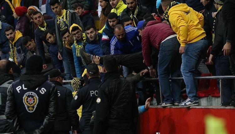 Ankaragücü taraftarı Beşiktaş maçında kalp krizi geçirdi