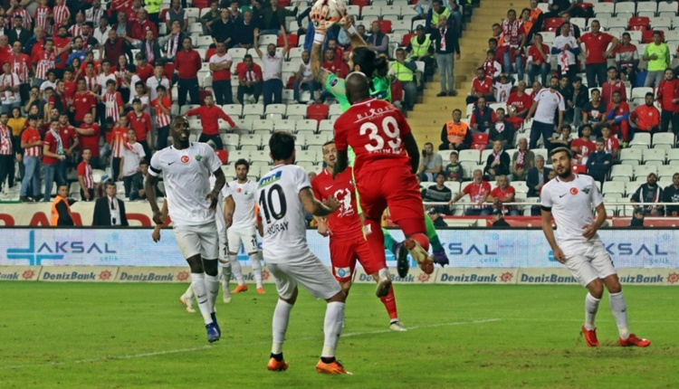 Antalyaspor 1 - 2 Akhisarspor maçın özeti ve golleri