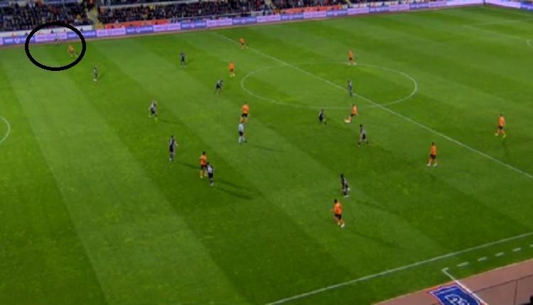 Başakşehir - Beşiktaş Elia'nın VAR'da iptal edilen golü