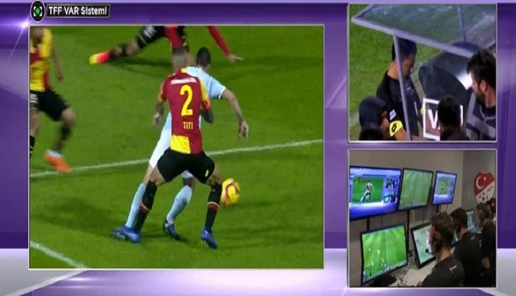 Başakşehir'e Göztepe maçında VAR'la gelen penaltı