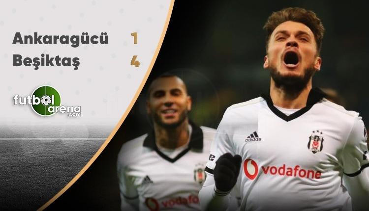 Beşiktaş, Kayseri'de Ankaragücü'nü rahat geçti
