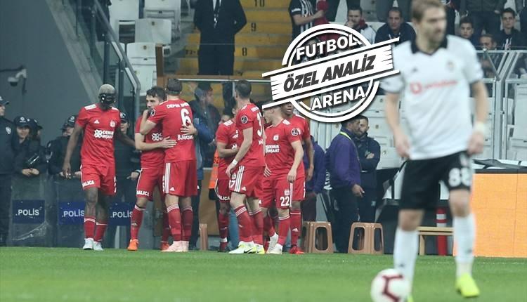 Beşiktaş şut attırmıyor ama gole engel olamıyor!