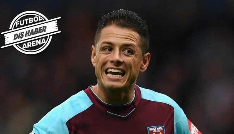 Beşiktaş'ın gözdesi Javier Hernandez, West Ham United'ta sorun oldu