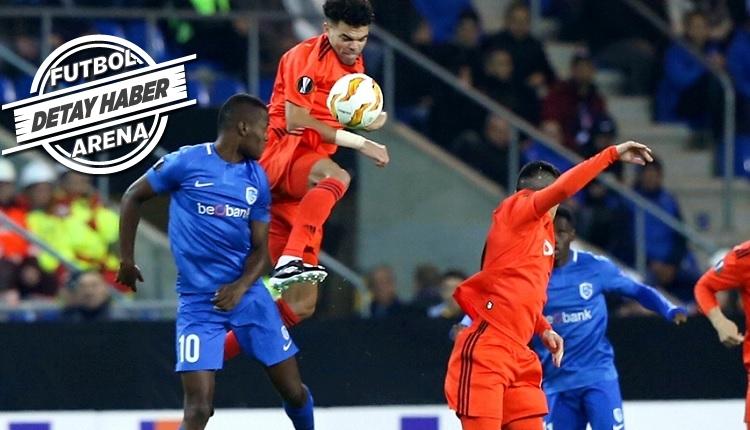 Beşiktaş'ın Genk maçındaki bu performansına yazık oldu