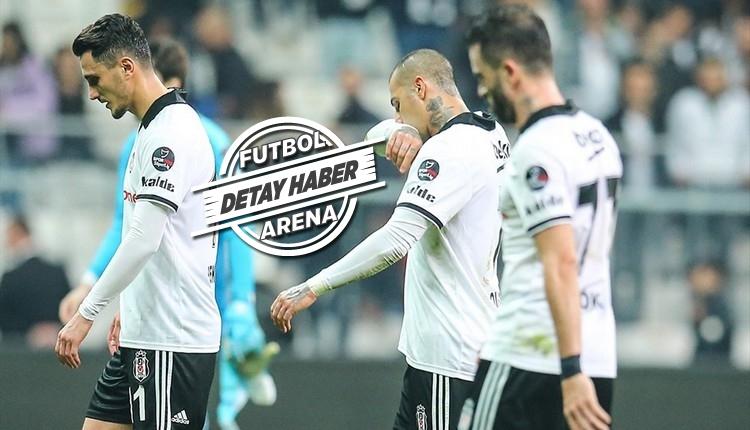 Beşiktaş'ta son 14 yılın en kötü performansı