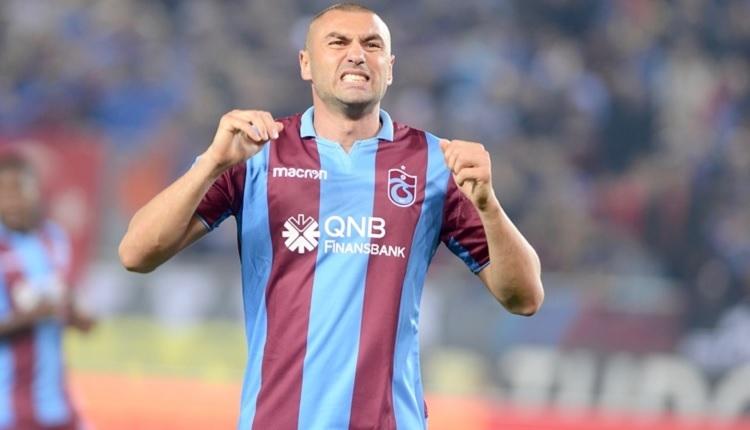 Burak Yılmaz'dan ıslıklayan Trabzonspor taraftarına olay tepki