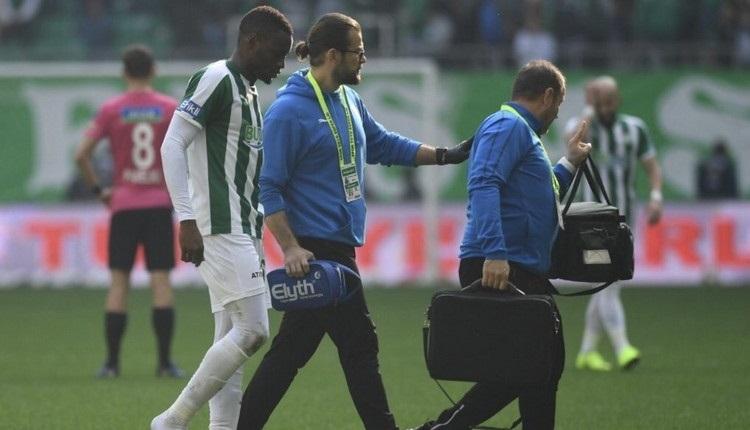 Bursaspor'da Diafra Sakho'nun sakatlığı ne kadar sürecek?