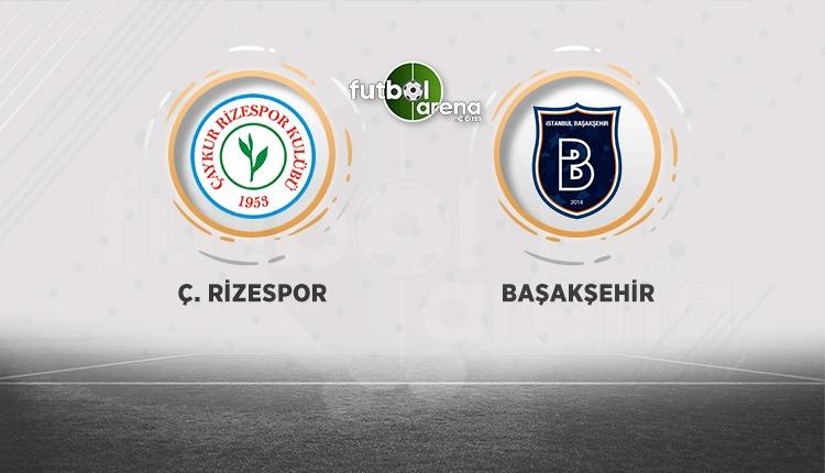 Çaykur Rizespor - Medipol Başakşehir beIN Sports canlı şifresiz izle (Rize - Başakşehir CANLI)