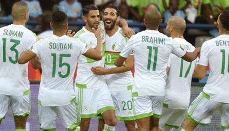 Cezayir farklı kazandı Feghouli'den 1 asist