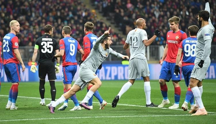 CSKA Moskova 1-2 Roma maç özeti ve golleri izle (Cengiz Ünder oynadı mı?)