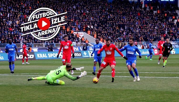 Erzurumspor 1-0 Antalyaspor maçı özeti ve golü (İZLE)