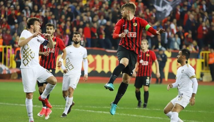 Eskişehirspor 1-0 Osmanlıspor maç özeti ve golleri (İZLE)