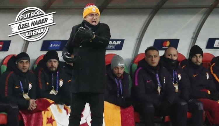Fatih Terim'i Lokomotiv Moskova maçında çıldırtan olay