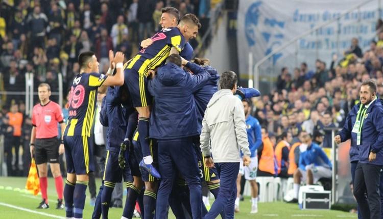 Fenerbahçe 2 - 0 Aytemiz Alanyaspor maçın özeti ve golleri (İZLE)