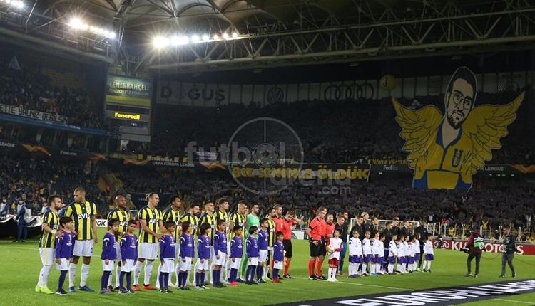 Fenerbahçe - Anderlecht maçında Koray Şener koreografisi
