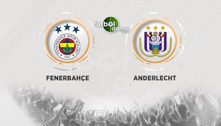 Fenerbahçe - Anderlecht canlı izle, Fenerbahçe - Anderlecht şifresiz izle, (Fenerbahçe - Anderlecht bein sports canlı ve şifresiz izle)