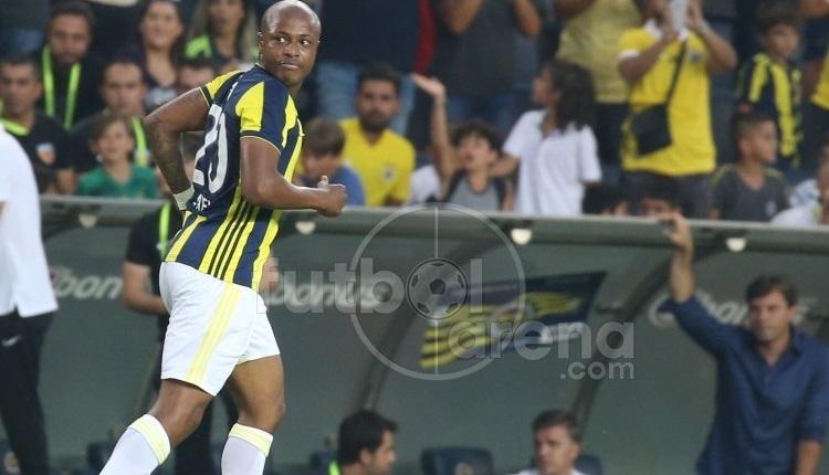 Fenerbahçe'de Andre Ayew, Trabzonspor maçında korkuttu