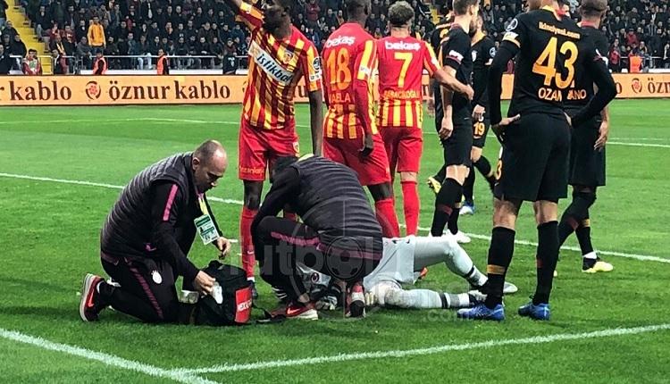 Fernando Muslera Kayserispor maçında korkuttu