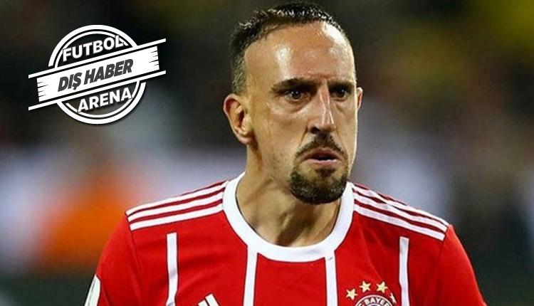 Franck Ribery maçtan sonra gazeteciyi dövdü!