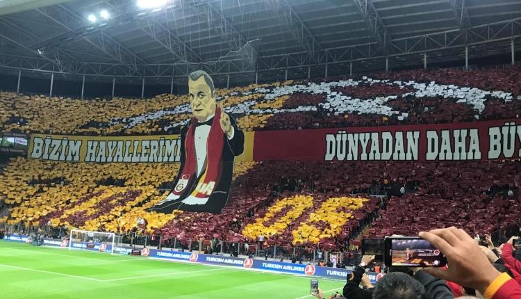 Galatasaray koreografisi İZLE (Galatasaray Fenerbahçe koreografi İZLE)